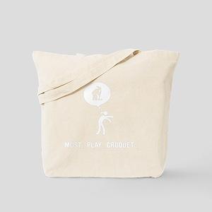Croquet-B Tote Bag