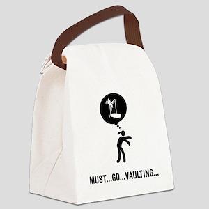 Pole-Vault-A Canvas Lunch Bag