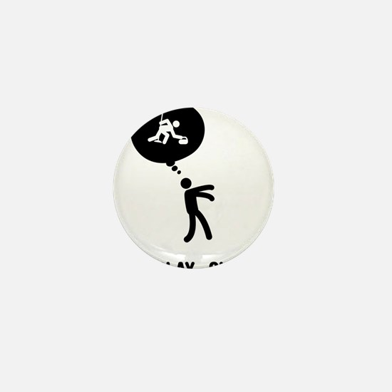 Curling-C Mini Button