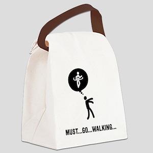 Race-Walking-C Canvas Lunch Bag