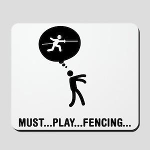 Fencing-C Mousepad