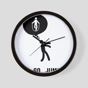 Rope-Jumping-C Wall Clock