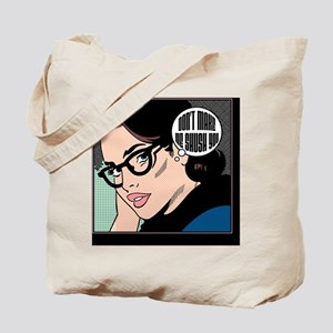 Retro Librarian Humor Tote Bag