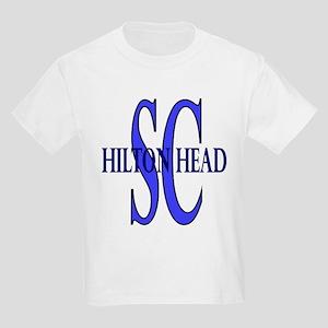 Hilton Head South Carolina Kids Light T-Shirt