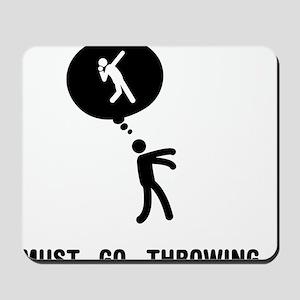 Shot-Put-C Mousepad