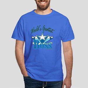 Greatest Boss Dark T-Shirt