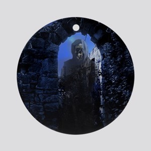 Phantom in the Ruins Round Ornament