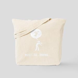 Ski-Slalom-B Tote Bag