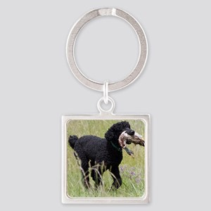 This Dog Can Hunt Square Keychain