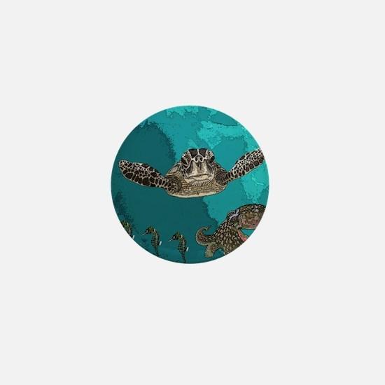 Sea creatures Mini Button