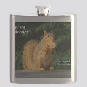 For Squirrel Lovers Everywhere Flask