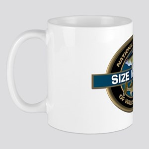 Size Matters Walleye Mug