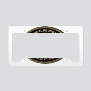Size Matters Walleye License Plate Holder