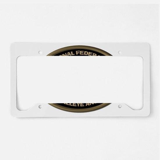 Size Matters Walleye License Plate Holder