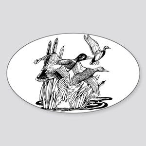 Ducks Unlimited Oval Sticker