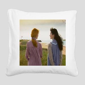 Bosom Friends Square Canvas Pillow