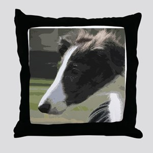 Silken Puppy Love! Throw Pillow