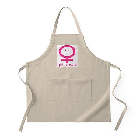 Girl Power Wink BBQ Apron