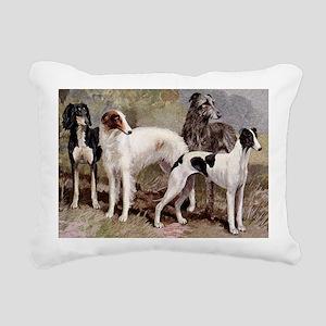 Sighthound Serving Tray Rectangular Canvas Pillow