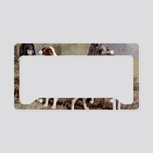 Sighthound Serving Tray License Plate Holder