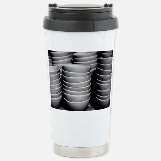 Pottery bowls Stainless Steel Travel Mug