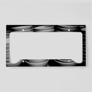 Pottery bowls License Plate Holder
