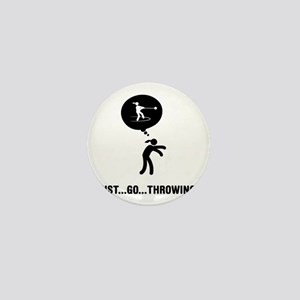 Hammer-Throw-A Mini Button