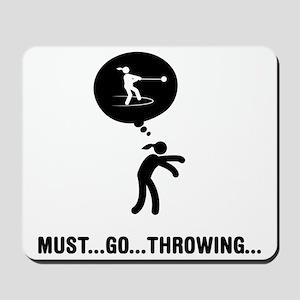 Hammer-Throw-A Mousepad