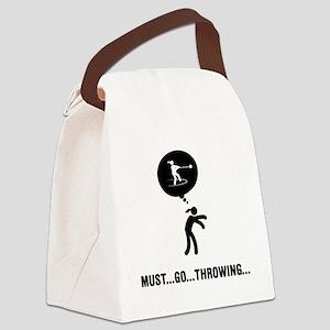Hammer-Throw-A Canvas Lunch Bag