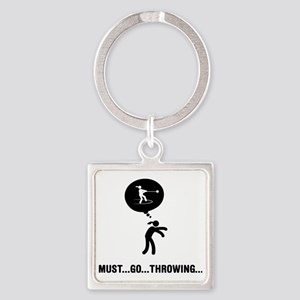 Hammer-Throw-A Square Keychain