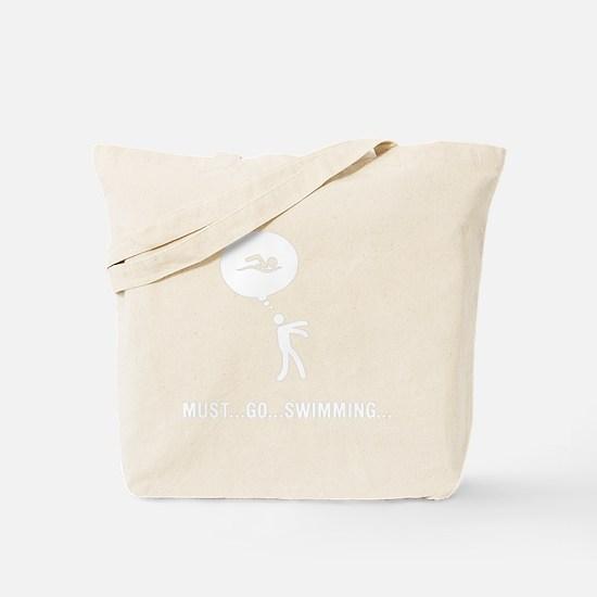 Swimming-D Tote Bag