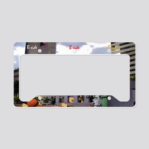 Pershing Square B-side License Plate Holder