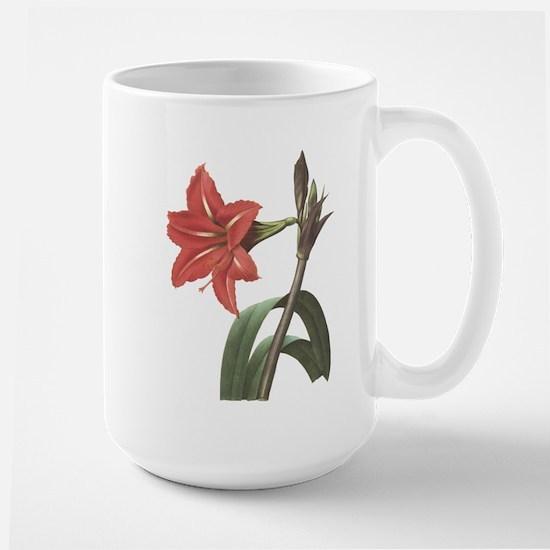 Redoute Amaryllis Large Mug