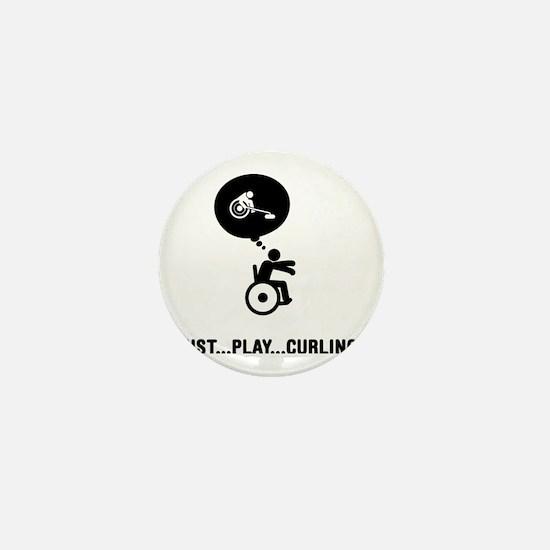 Wheelchair-Curling-C Mini Button