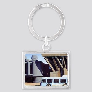 binocs and a bus toiletry bag Landscape Keychain