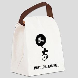 Wheelchair-Racing-C Canvas Lunch Bag