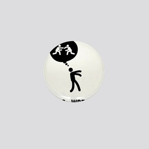 Wrestler-C Mini Button