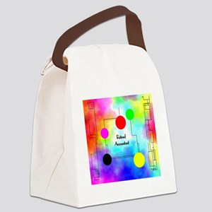 retired accountant 3 Canvas Lunch Bag