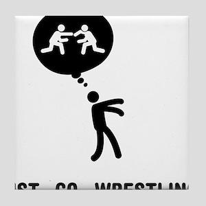 Wrestler-C Tile Coaster