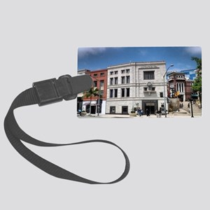 rodeo drive bev hills Baby! coin Large Luggage Tag