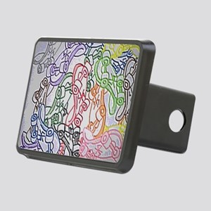 LAX skateboards by bjork a Rectangular Hitch Cover