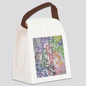 LAX skateboards by bjork all over Canvas Lunch Bag