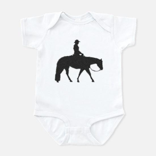 Western pleasure pixels Infant Bodysuit