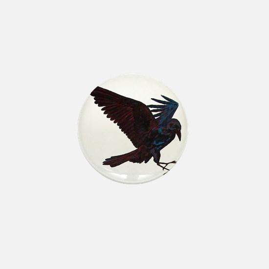 Odin's Raven Mini Button
