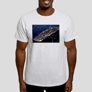 USS George Washington Ship's Image Light T-Shirt