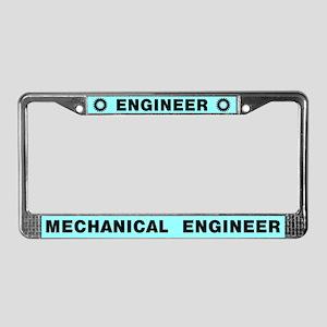 Engineer License Plate Frame