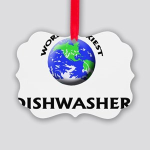 World's Sexiest Dishwasher Picture Ornament