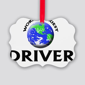 World's Sexiest Driver Picture Ornament