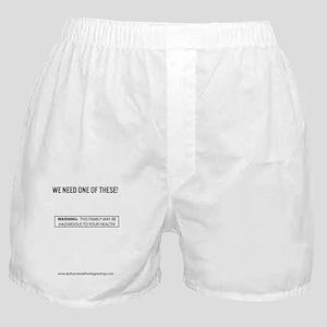 Dysfunctional Family Greetings Toxic  Boxer Shorts