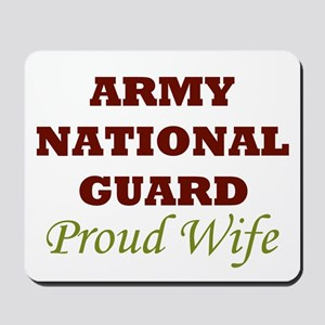 National Guard Proud Wife Mousepad